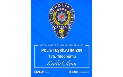 6-12 Nisan Polis Haftası Kutlu Olsun.
