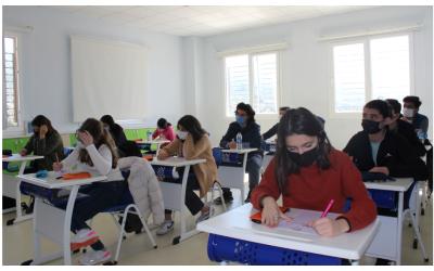 """Özge Koleji 2021 """"Bursluluk Sınavı"""" Tamamlandı."""