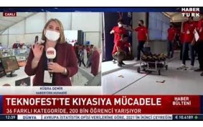 Özge Drone Team Habertürk'te...