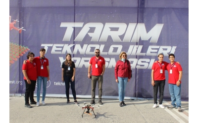 Özge Drone Team Teknofest'te...