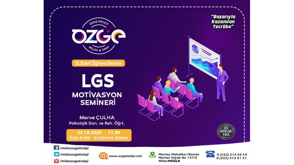LGS Motivasyon Semineri